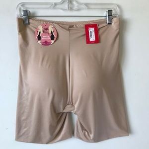 Spanx Booty Booster Suit Your Fancy Nude NWT #70